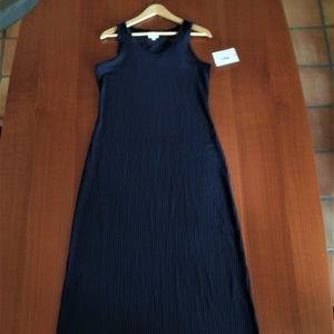 LULAROE! L- DANI DRESS IN SOLID MIDNIGHT BLUE
